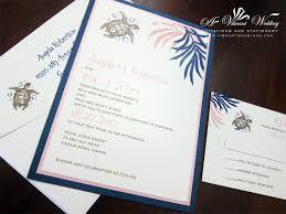 island wedding invitation a vibrant wedding