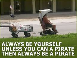 Pirate Meme - always be a pirate meme waterfront properties blog