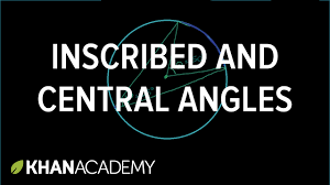 inscribed angle theorem proof high geometry high