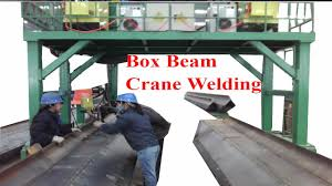 Box Beam Box Beam Production Line Youtube
