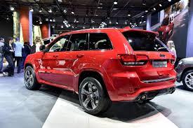 jeep srt 2015 2015 jeep grand cherokee srt red vapor limited edition revealed