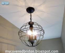 Wire Chandelier Diy 156 Best Wire Lighting Images On Pinterest Industrial Lighting