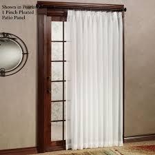 Long Kitchen Curtains by Patio Doors Stupendous Blackoutio Door Curtains Photos Concept