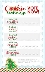 15 christmas cookie exchange party invitations la la la y navidad