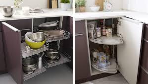meubles angle cuisine cuisine meuble d angle de blanc et violine castorama