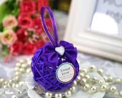 purple wedding favors choosing the best chocolate wedding favors registaz