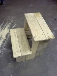step stool from a pallet how to pallet projects pinterest