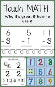 touch math for upper grade level students 3rd and up free pages