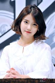 iu kpop bobbed hair beauty pinterest kpop bobs and korean