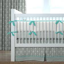 Aqua And Grey Crib Bedding Aqua And Gray Crib Bedding