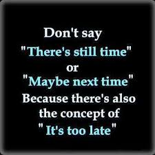 late quotes time quotes