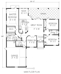 Scale Floor Plan by 1 1122 Period Style Homes Plan Sales