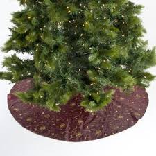 Peppermint Twist Tree Skirt Using Sequin Tree Skirt Wayfair