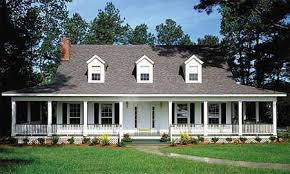 Houses With Big Porches Country Home Plans With Covered Porches Homes Zone