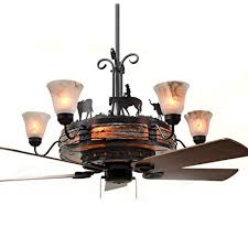 western ceiling fans with lights shop rustic lighting and fans rustic lighting fans