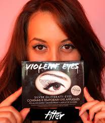 eyeliner tattoo violent eyes violent lips