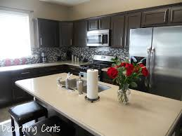Painted Black Kitchen Cabinets Decorating Cents Kitchen Cabinets Revealed