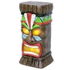 Solar Garden Ornaments Outdoor Decor Garden Treasures 15 In Tiki Statue Decorative Indoor Ornaments
