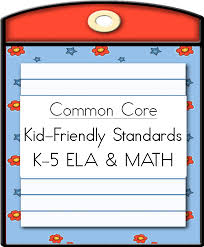 common core kid friendly standards ela guided reading picture