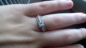 matching wedding rings for him and anyone wedding bands that do not match your engagement ring