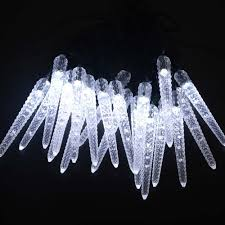 aliexpress buy led icicle solar powered string lights 16ft