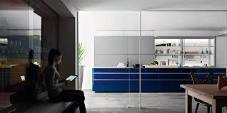 contemporary kitchen glass hidden ecological artematica