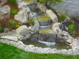 backyard pond ideas with waterfall easy backyard back yard
