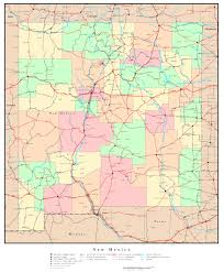 County Map Of Colorado by New Mexico Political Map