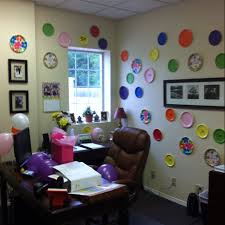 Decorating Ideas For An Office Impressive Sitting At An Office Desk Birthday Inside Cool Article