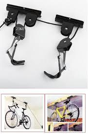 Bicycle Ceiling Hoist by Best 25 Bicycle Storage Garage Ideas On Pinterest Bicycle