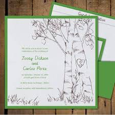 tree wedding invitations birch tree invitations birch tree wedding invitations vintage