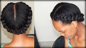 black hair styles for for side frence braids natural hair 2 side braids 4b 4c hair youtube