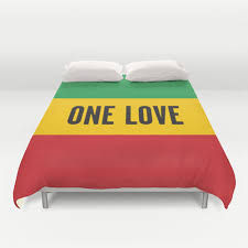 chambre rasta bob marley one lyric duvet cover rasta reggae bedroom decor