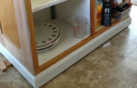 installing kitchen island base cabinet moldings ideas install baseboard molding on a kitchen