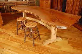 Building A Wood Desk by Dining Tables How To Build A Live Edge Slab Table Live Edge Desk