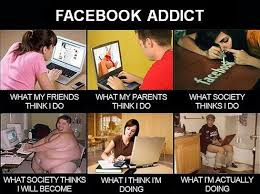 What Is Meme On Facebook - facebook addiction expectation vs reality