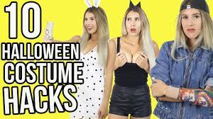 10 halloween costume hacks youtube