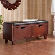 Storage Seating Bench Harper Blvd Murphy 2 Drawer Storage Bench By Harper Blvd Drawer