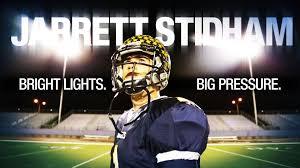 Friday Night Lights Real Story Meet Jarrett Stidham The King Of Friday Night Lights In Texas B