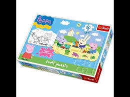 peppa pig trefl puzzle 30 pieces peppa pig puzzle