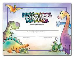 preschool diploma preschool diploma dinosaurs cool school studios package of 25