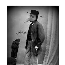 Vintage Creepy Halloween Photos Bizarre Creepy Man Vintage Photo Victorian Mask Altered Art
