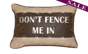 Equestrian Home Decor Don U0027t Fence Me In