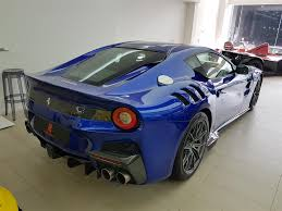 Ferrari F12 Blue - used 2016 ferrari f12 for sale in hong kong pistonheads