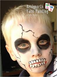 Halloween Face Paint Skeleton by Bridgnorth Face Painting U0026 Party People Gallery