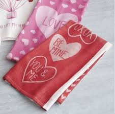 sur la table kitchen towels valentine love jacquard kitchen towel sur la table v day easter
