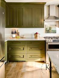 green paint color kitchen cabinets olive green kitchen cabinets painted by payne