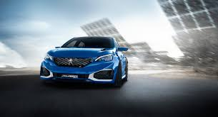 peugeot hatchback 308 peugeot has unveiled its extremely powerful 500hp hatchback