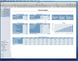 Spreadsheet Template For Budget Personal Budget Template