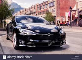 tesla electric car black 2017 tesla model s luxury electric car parked on a city